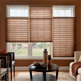 Levolor accordia 7 16 double cell light filtering shades for Bali motorized blinds cost