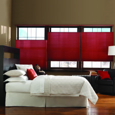 Bali DiamondCell Single Cell Light Filtering Shades room scene