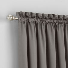Bali Custom Rod Pocket Draperies room scene