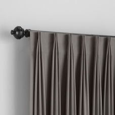 Bali Custom Inverted Pleat Draperies room scene