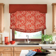 Bali Fabric Wrapped Traditional Cornices