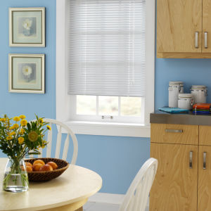 "Bali Essentials 1"" Aluminum Blinds Room Setting"