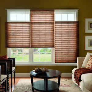 "Bali NeatPleat 2"" Light Filtering Shades Room Setting"