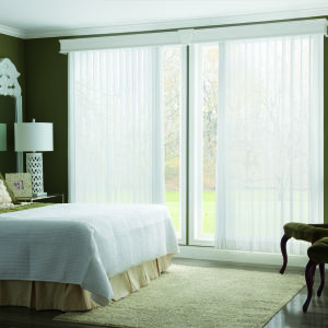 Bali Sheer Enchantment Soft Vertical Blinds Room Setting