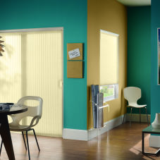 Bali VertiCell Light Filtering Double Cell Shades room scene