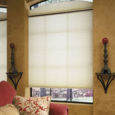 "BlindSaver Advantage 3/4"" Single Cell Light Filtering Shades room scene"