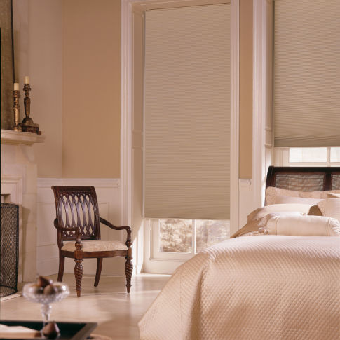 BlindSaver Classic Creations Single Cell Blackout Shades Room Setting