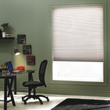 BlindSaver Value Single Cell Light Filtering Shades room scene