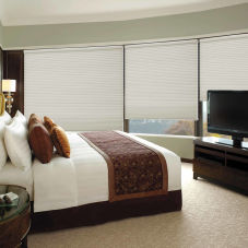 BlindSaver Premium Double Cell Blackout Shades room scene