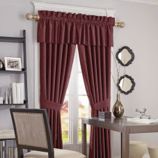 BlindSaver Advantage Custom Rod Pocket Draperies room scene