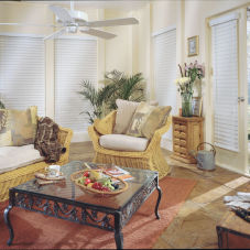 "BlindSaver Advantage 2-1/2"" Wood Alloy Blinds room scene"