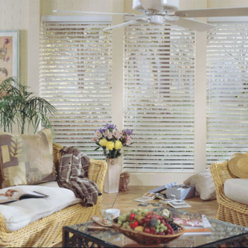 "BlindSaver Studio 2"" Composite Blinds Room Setting"