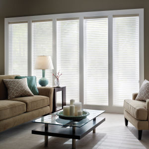 "BlindSaver Advantage 2"" Light Filtering Window Shadings Room Setting"