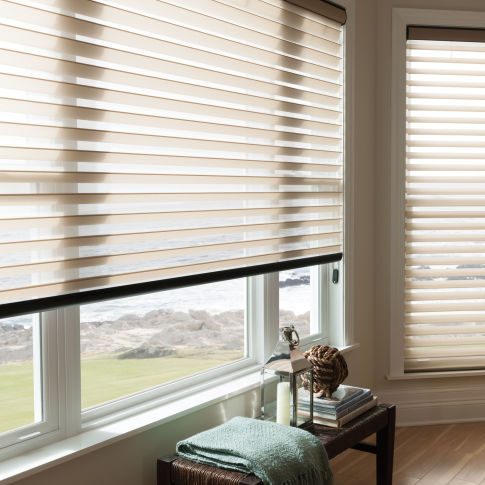 "BlindSaver Advantage 3"" Light Filtering Window Shadings Room Setting"