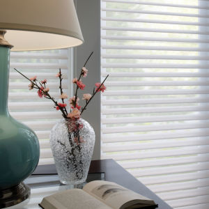 "BlindSaver Advantage 2"" Room Darkening Window Shadings Room Setting"