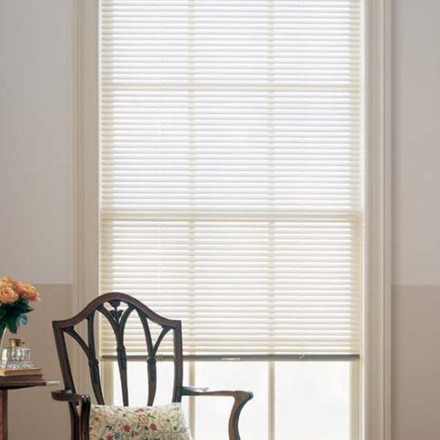 "BlindSaver Advantage 1"" Elite Mini Blinds Room Setting"