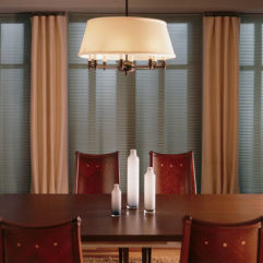 BlindSaver Advantage No-Holes Blackout Pleated Shades room scene