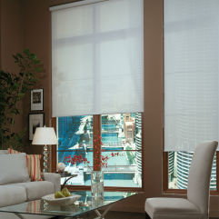 BlindSaver Advantage Solar Screens room scene