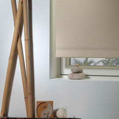 BlindSaver Basics Roller Shades  room scene