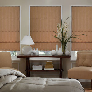 BlindSaver Advantage Custom Roman Shades Room Setting