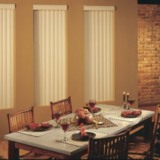 BlindSaver Advantage S-Curve Vinyl Vertical Blinds