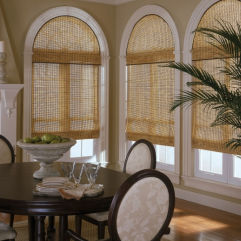 BlindSaver Advantage Woven Wood Shades room scene