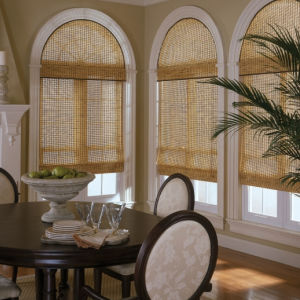 BlindSaver Advantage Woven Wood Shades Room Setting