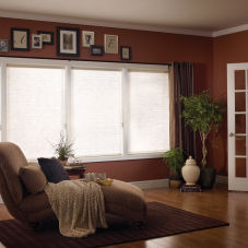 Comfortex Odysee Light Filtering Insulating Blinds room scene
