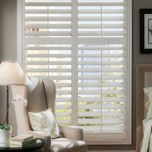 Eclipse Poly Shutters Room Setting