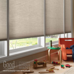 "Good Housekeeping Cellular Shades 1/2"" Single Cell Light Filtering Shades room scene"