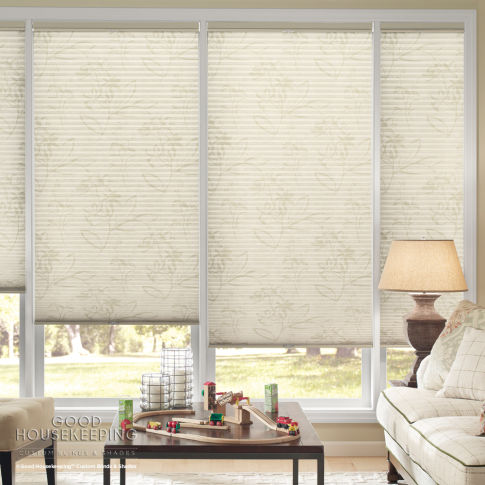 Good Housekeeping Single Cell Light Filtering Shades Room Setting
