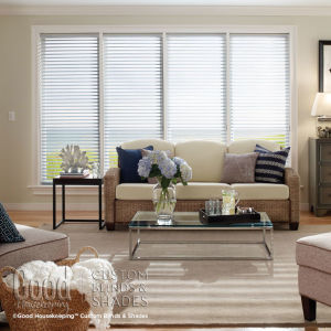 Good Housekeeping Light Filtering Insulating Cellular Blinds Room Setting