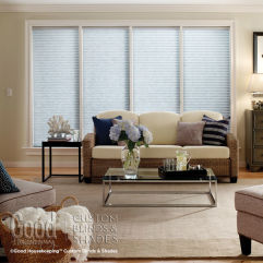 Good Housekeeping Room Darkening Insulating Cellular Blinds room scene