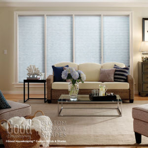 Good Housekeeping Room Darkening Insulating Cellular Blinds Room Setting