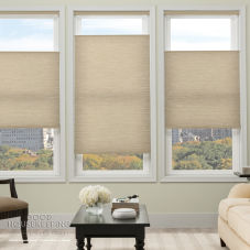 Good Housekeeping Everyday Essentials Light Filtering Cordless Cellular Shades room scene