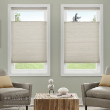 Good Housekeeping Everyday Essentials Blackout Cordless Cellular Shades room scene