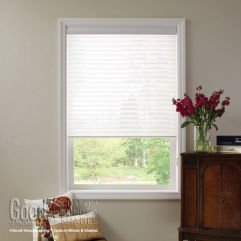 "Good Housekeeping Sheer Horizontal 2"" Window Shadings room scene"