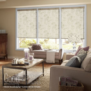 Good Housekeeping Roller Shades  Room Setting