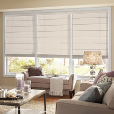 Good Housekeeping Flat Panel Roman Shades