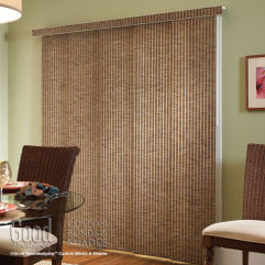 Good Housekeeping Panel Track Roller Shade Fabrics room scene