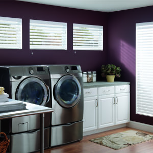 "Graber Traditions 2"" Composite Blinds Room Setting"