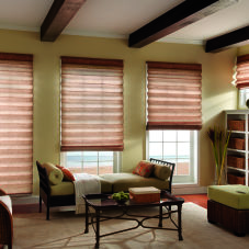 Graber Fresco Tear Drop Roman Shades