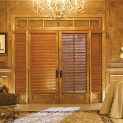 "Graber Traditions 1""  Wood Blinds room scene"