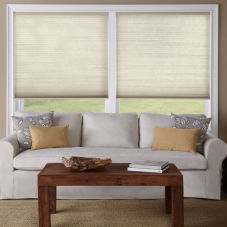 Levolor Accordia Single Cell Light Filtering Shades room scene