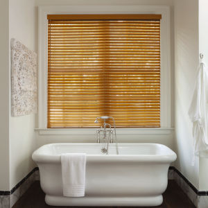"Levolor NuWood 2""  Composite Blinds Room Setting"