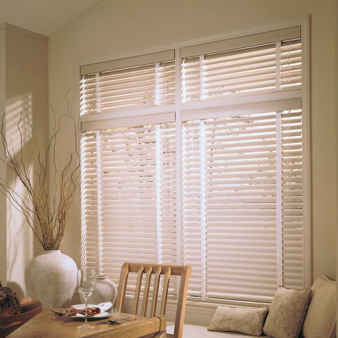 "Levolor Riviera Classic 1"" Mini Blinds Room Setting"