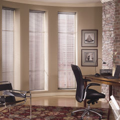 "Levolor Mark I 1-3/8"" Mini Blinds room scene"
