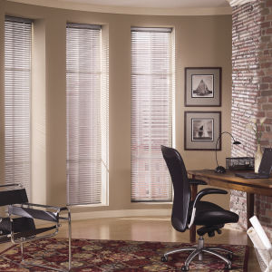 "Levolor Mark I 1-3/8"" Mini Blinds Room Setting"