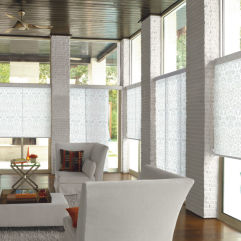 Levolor Custom Roller Shades room scene
