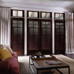 "Levolor Premium 1""  Real Wood Blinds Room Setting"